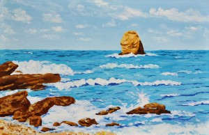 Fekete József: Görög tengerpart