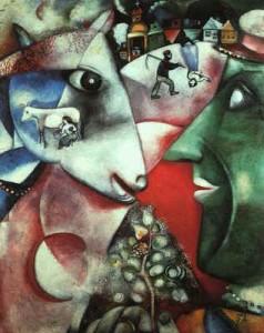 Chagall Én és a falu