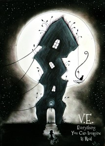 Vörös Eszter Anna: A ház, amely sohasem alszik