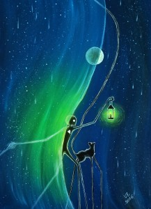 Vörös Eszter Anna: Az éj függönye